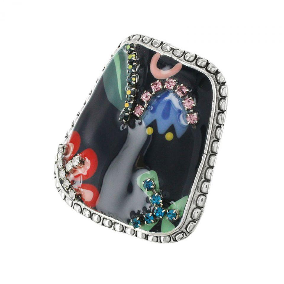 Bague Cavalcade Argent Multi Taratata Bijoux Fantaisie en ligne 3