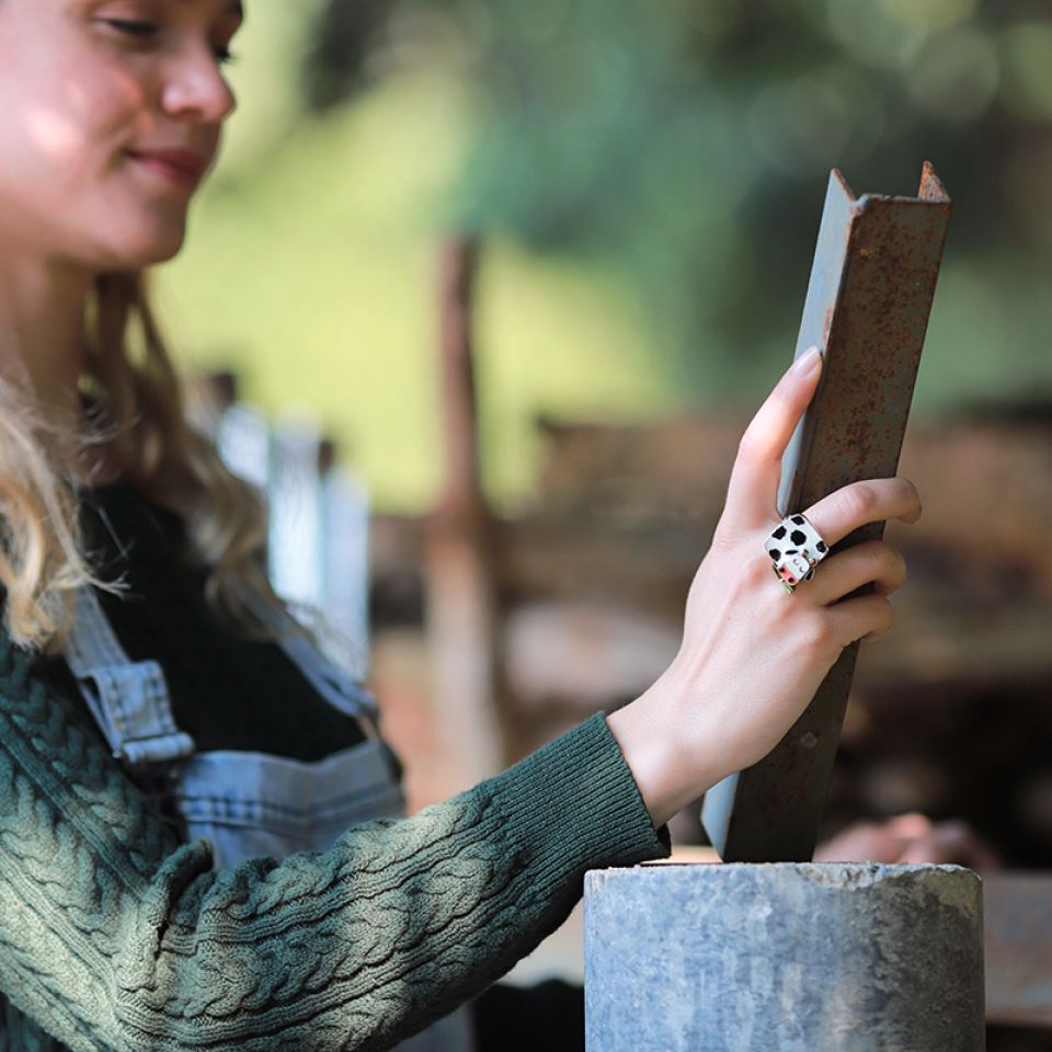 Bague Marguerite Argent Multi Taratata Bijoux Fantaisie en ligne 3