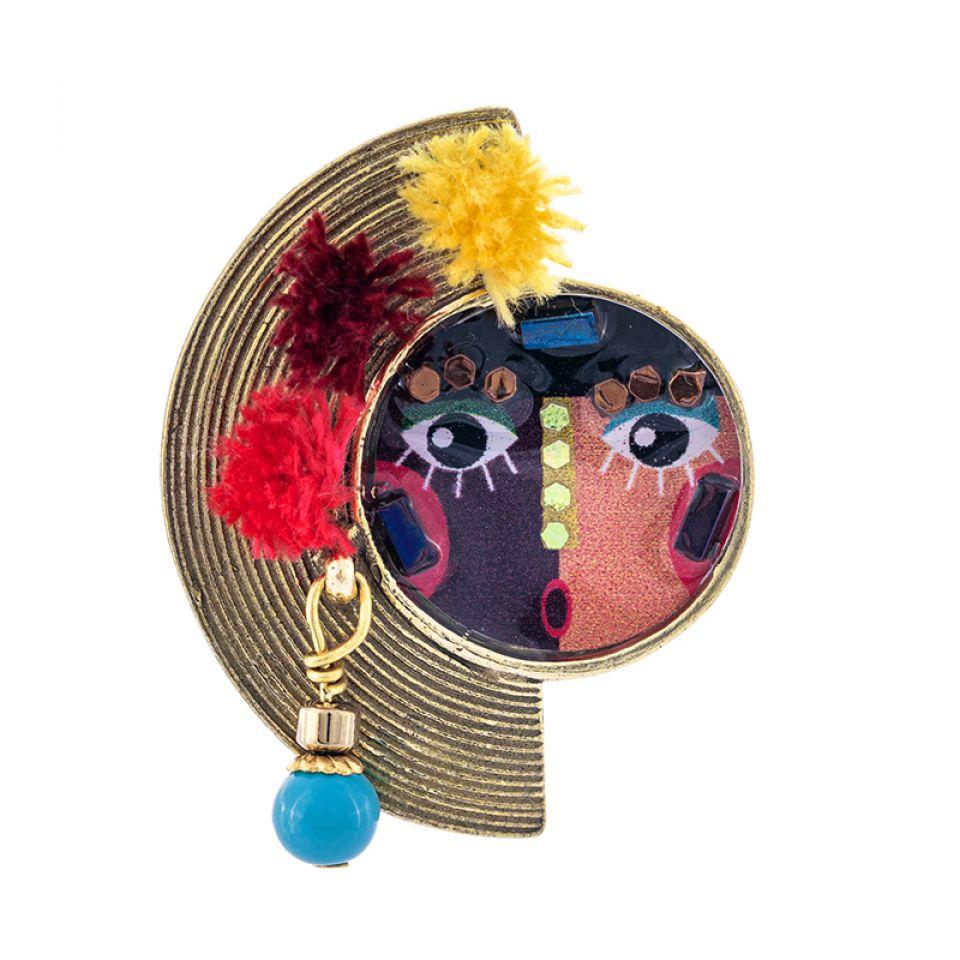 Bague Pleine Lune Bronze Multi Taratata Bijoux Fantaisie en ligne 3