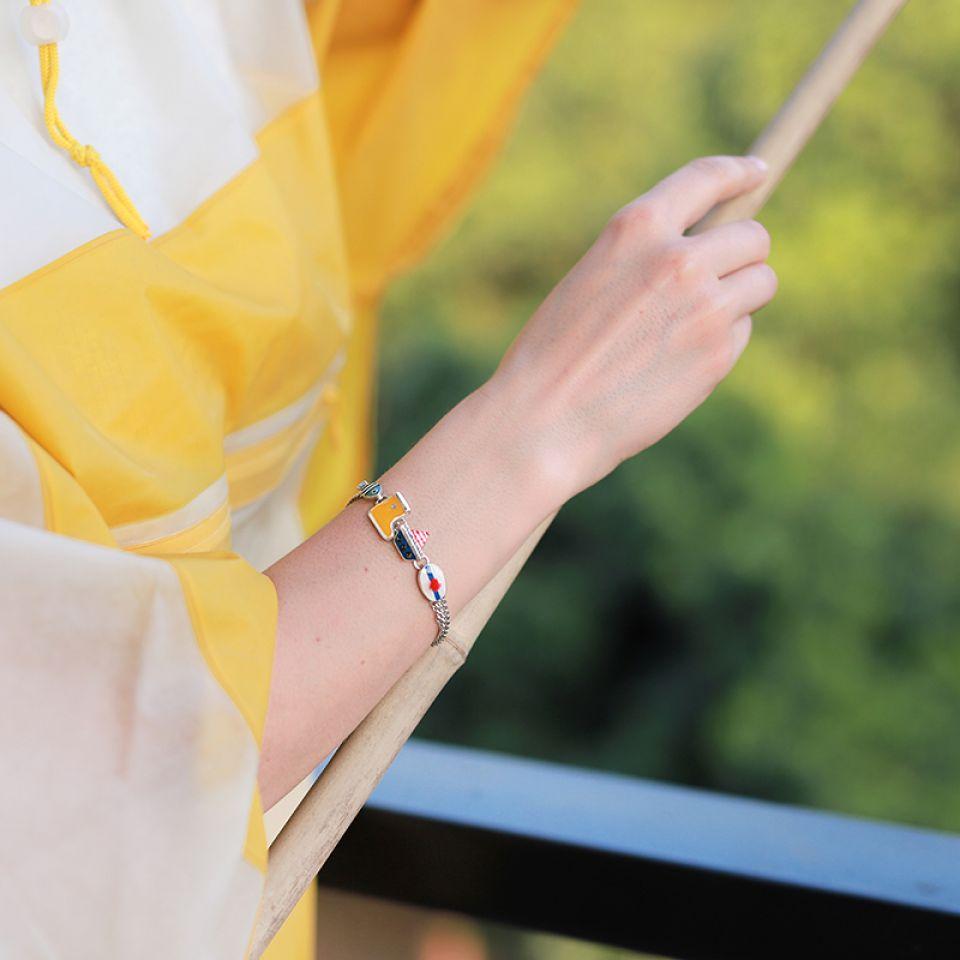 Bracelet A L Abordage Argent Multi Taratata Bijoux Fantaisie en ligne 1