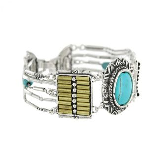 Bracelet Acapulco Argent Bleu