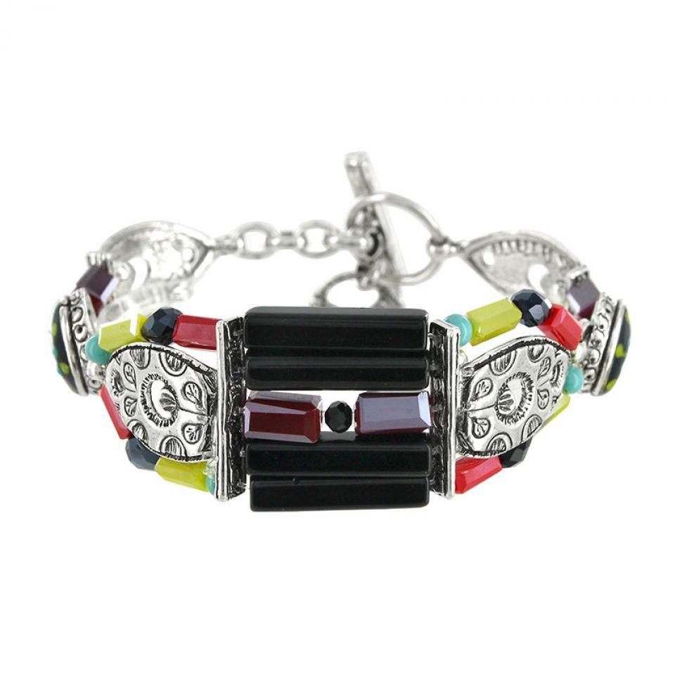 Bracelet Akiko Argent Multi Taratata Bijoux Fantaisie en ligne 1