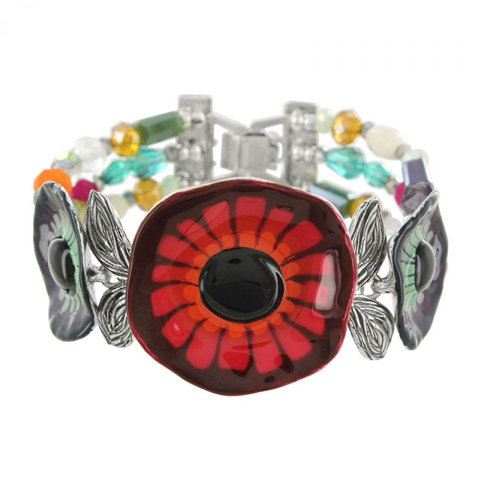 Bracelet Arabesque Argent Multi Taratata Bijoux Fantaisie en ligne 1