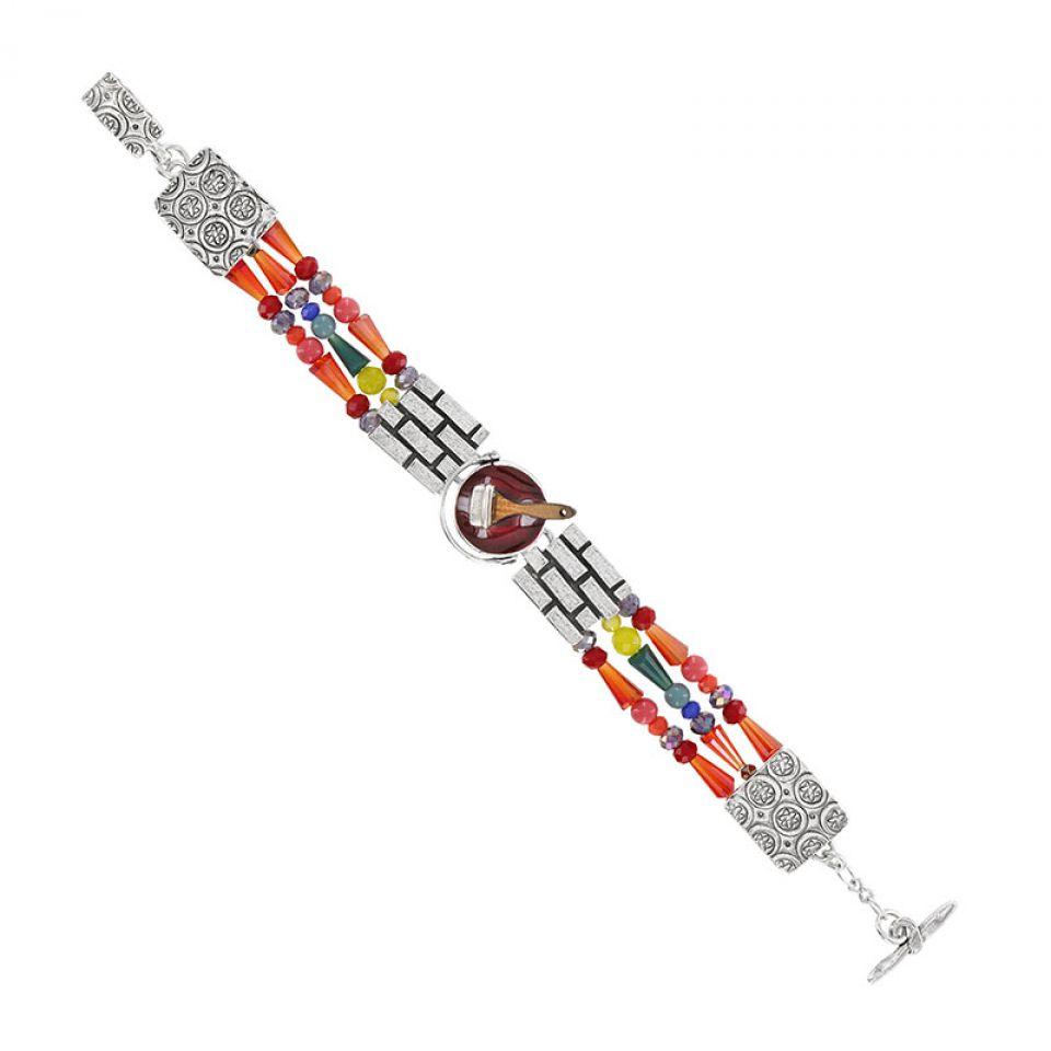 Bracelet Archi-chic Argent Multi Taratata Bijoux Fantaisie en ligne 1