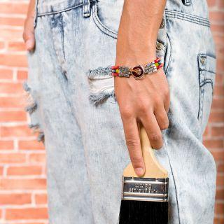 Bracelet Archi-chic Argent Multi
