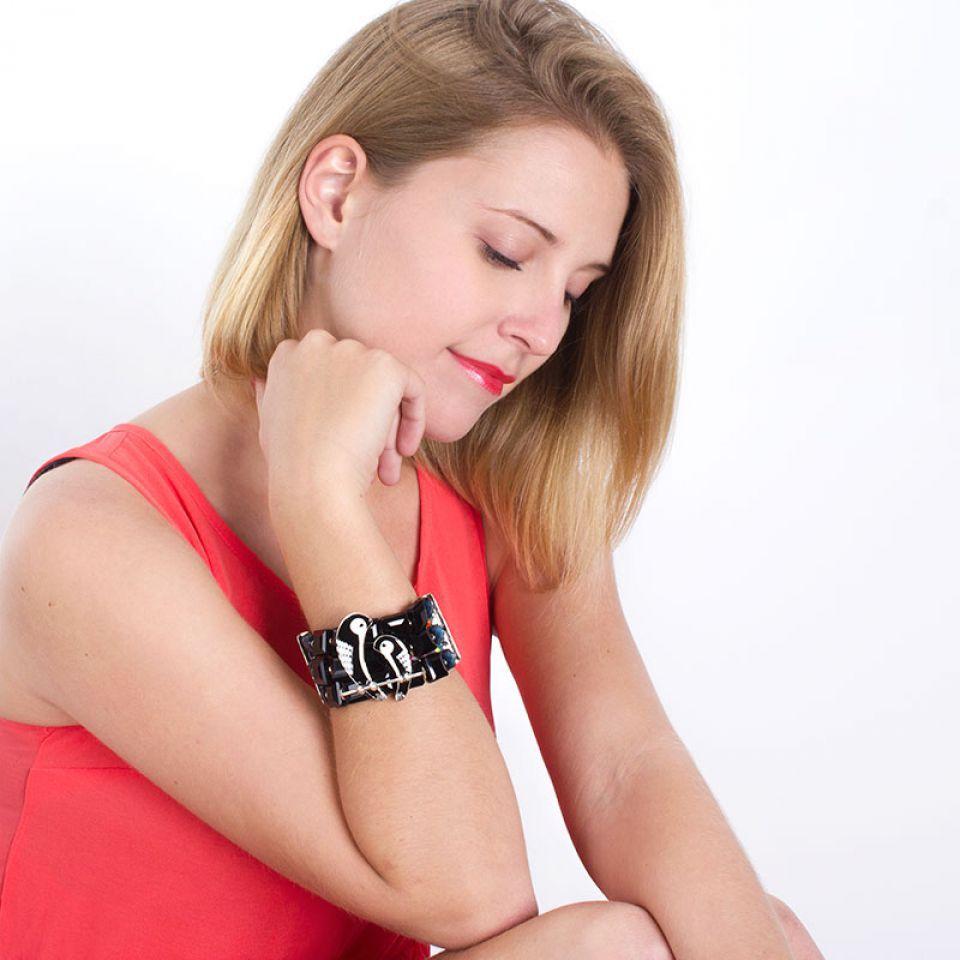 Bracelet Aronde Argent Multi Taratata Bijoux Fantaisie en ligne 2