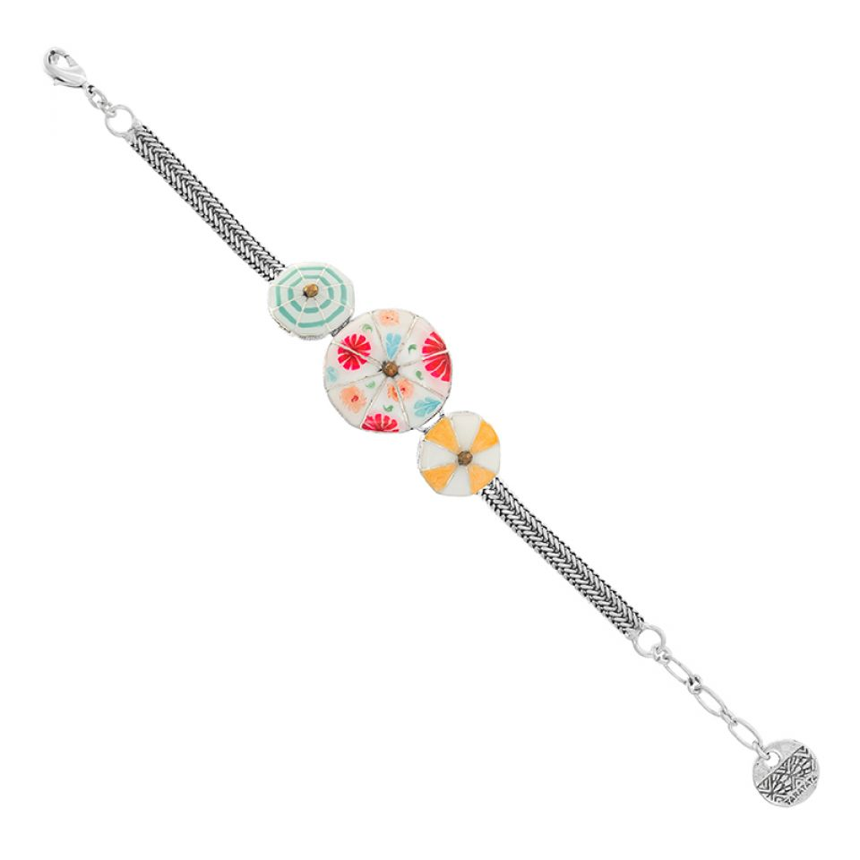 Bracelet Bain De Minuit Argente Multi Taratata Bijoux Fantaisie en ligne 1