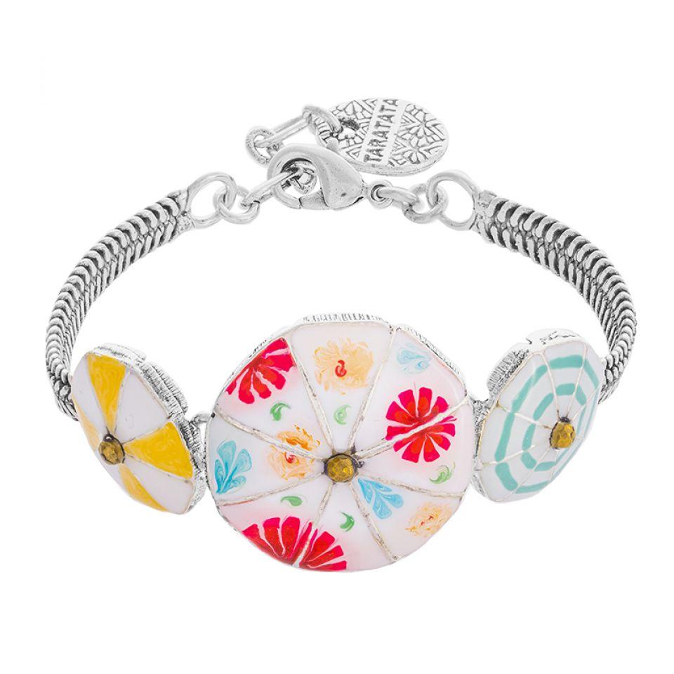 Bracelet Bain De Minuit Argente Multi Taratata Bijoux Fantaisie en ligne 3