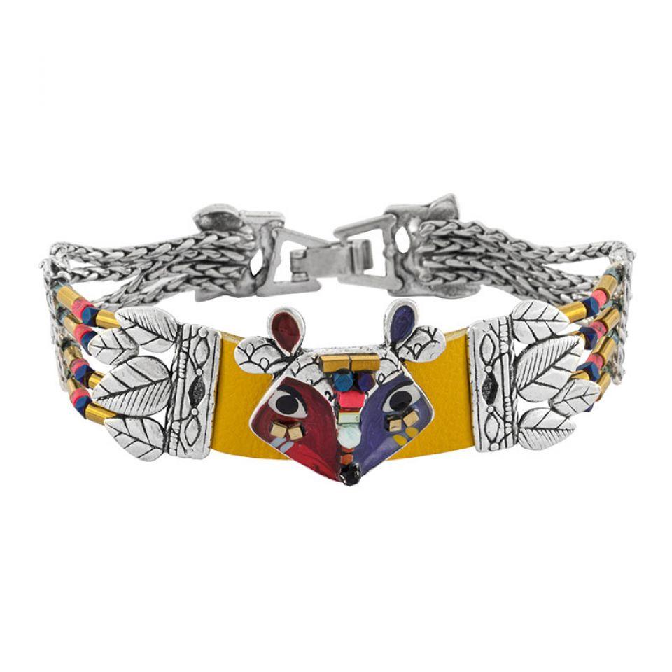 Bracelet Belle Et Rusee Couleur Argent Multi Taratata Bijoux Fantaisie en ligne 1
