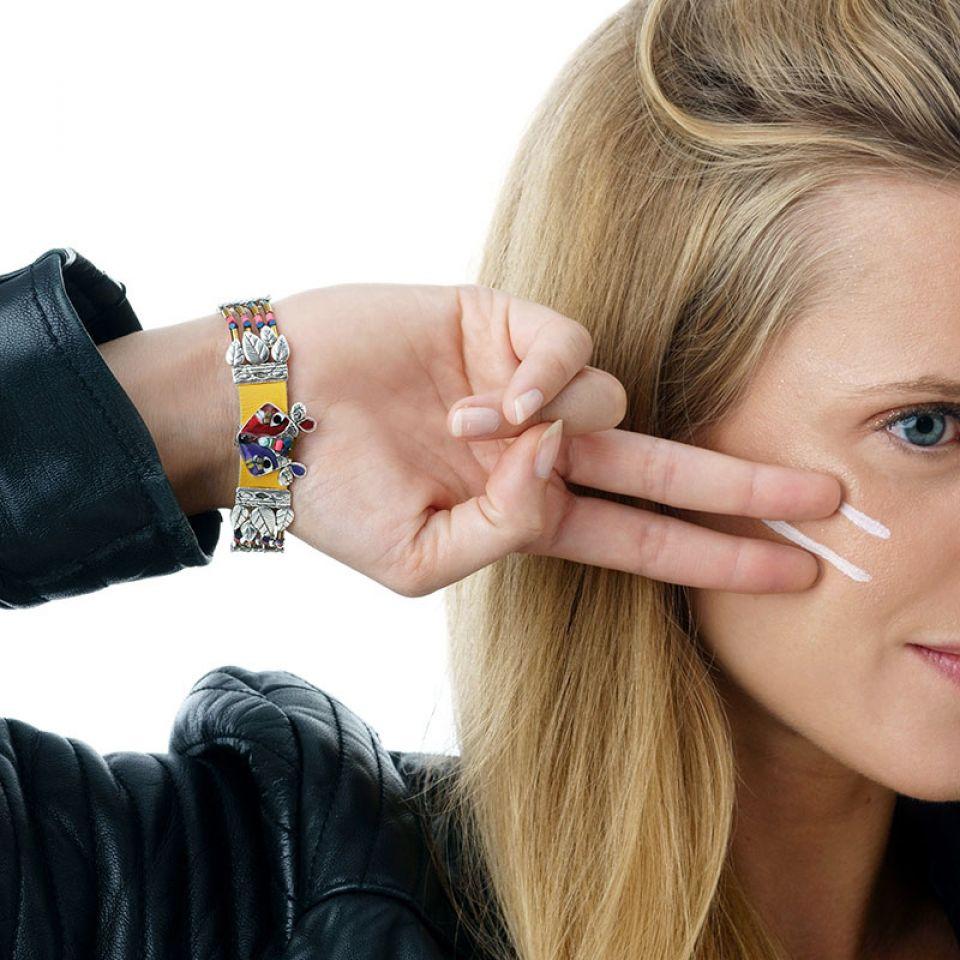Bracelet Belle Et Rusee Couleur Argent Multi Taratata Bijoux Fantaisie en ligne 2