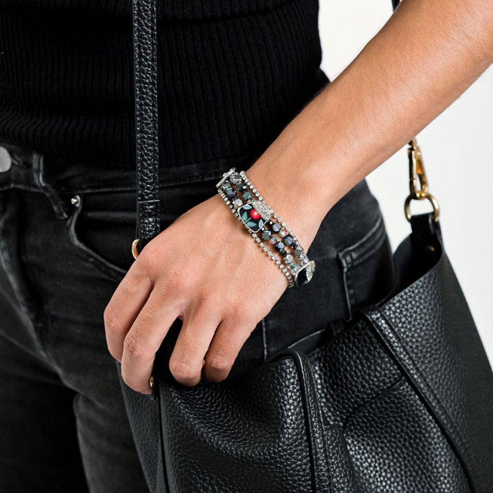 Bracelet Bergamote Argent Multi Taratata Bijoux Fantaisie en ligne 2