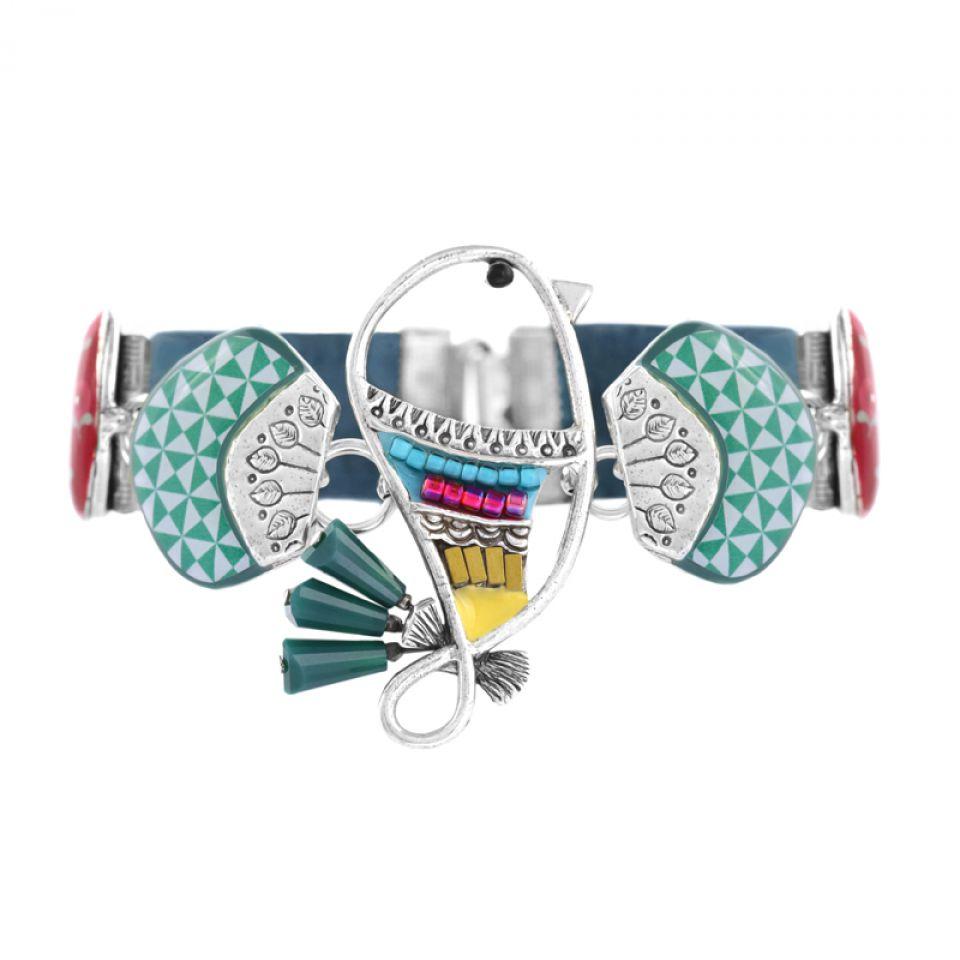Bracelet Bisou Argent Multi Taratata Bijoux Fantaisie en ligne 1