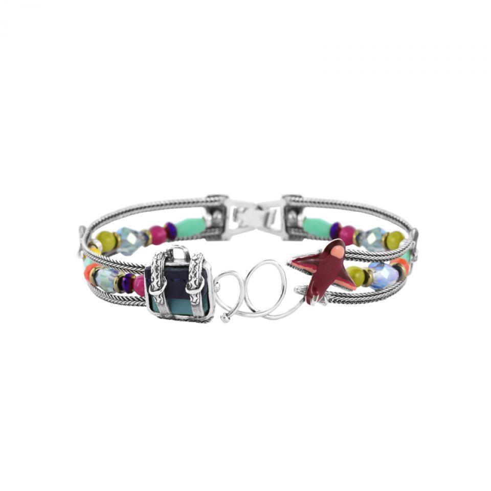 Bracelet Bon Voyage Argent Multi Taratata Bijoux Fantaisie en ligne 2