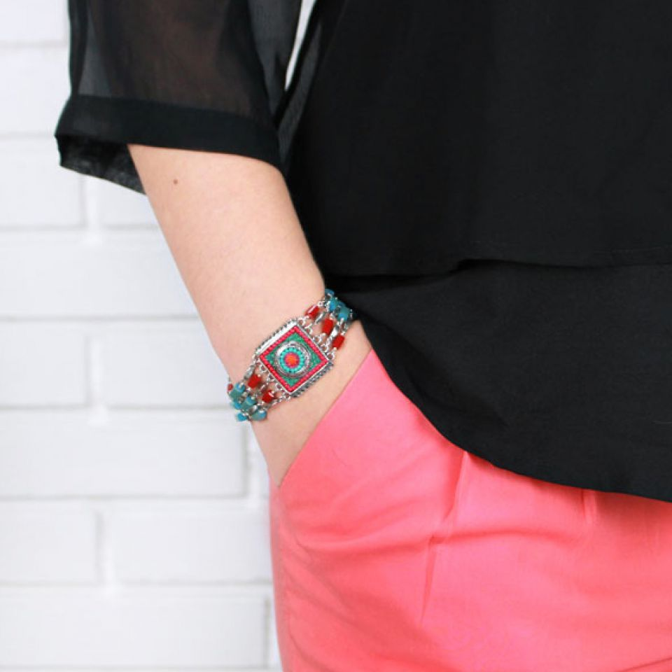 Bracelet Bond Argent Multi Taratata Bijoux Fantaisie en ligne 2