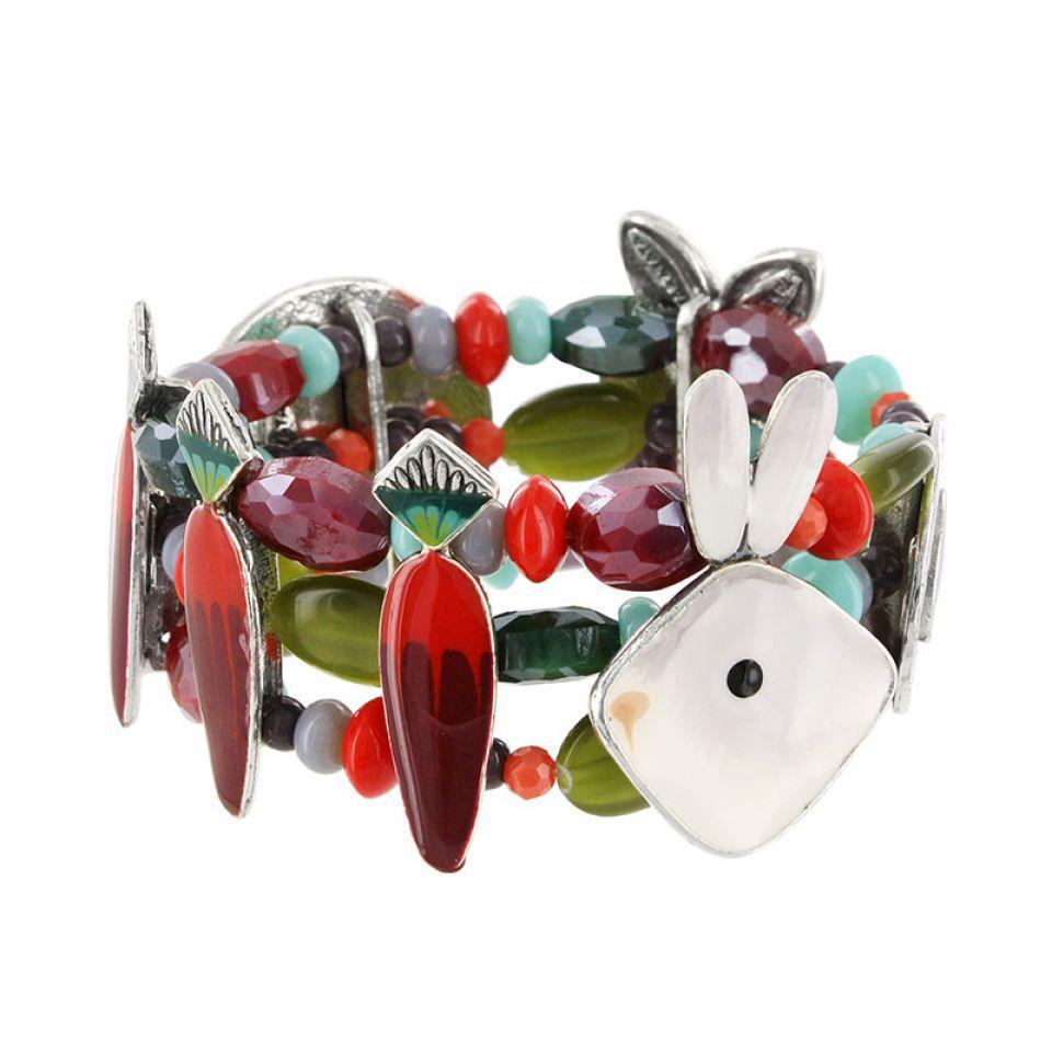 Bracelet Bonne Mine Argent Multi Taratata Bijoux Fantaisie en ligne 1
