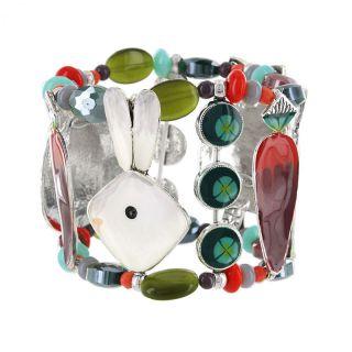 Bracelet Bonne Mine Argent Multi