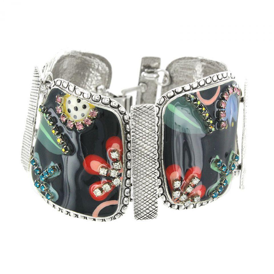 Bracelet Cavalcade Argent Multi Taratata Bijoux Fantaisie en ligne 1