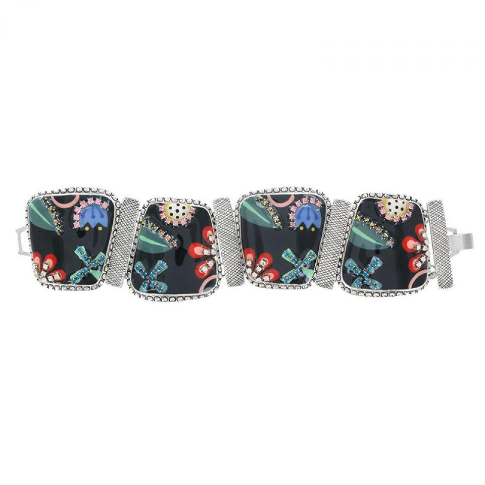 Bracelet Cavalcade Argent Multi Taratata Bijoux Fantaisie en ligne 3