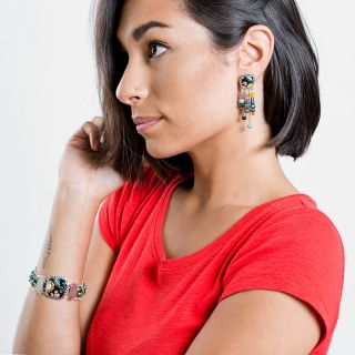 Bracelet Cavalcade Argent Multi