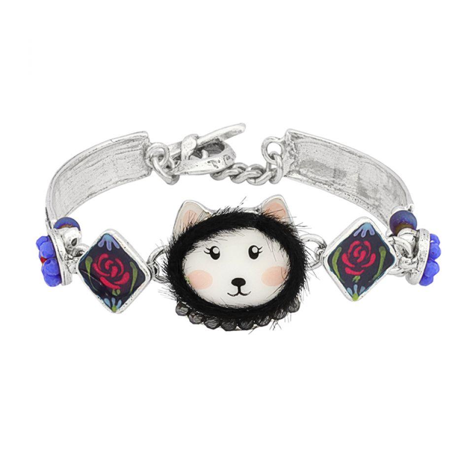 Bracelet Chabeaute Argent Multi Taratata Bijoux Fantaisie en ligne 1