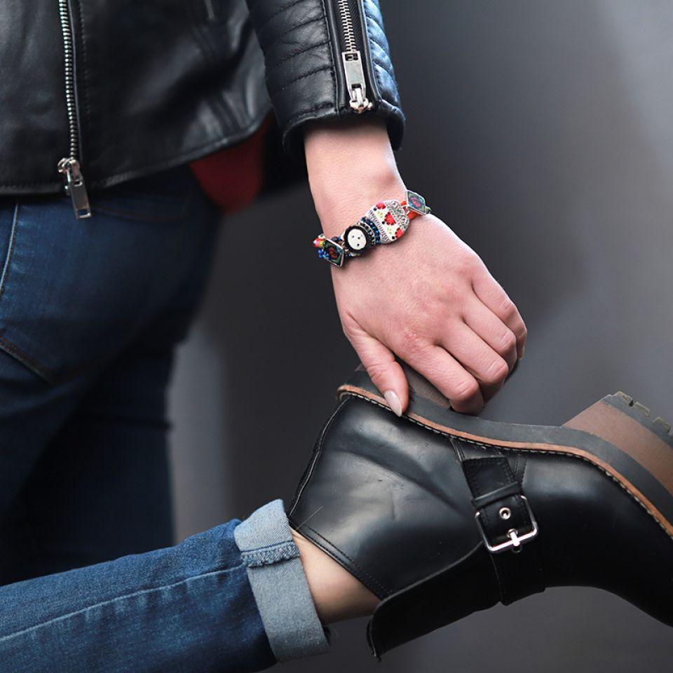 Bracelet Chabeaute Argent Multi Taratata Bijoux Fantaisie en ligne 2