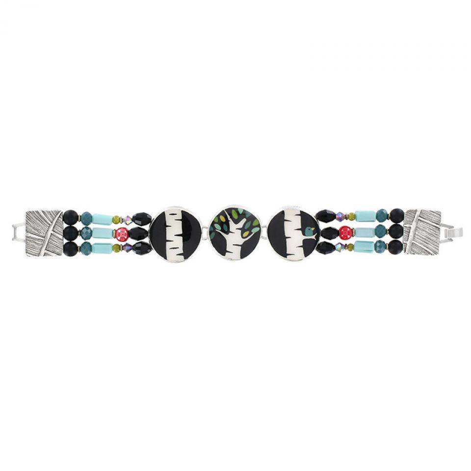 Bracelet Charme Argent Multi Taratata Bijoux Fantaisie en ligne 1