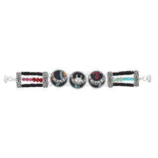 Bracelet Chinchilla Argent Multi
