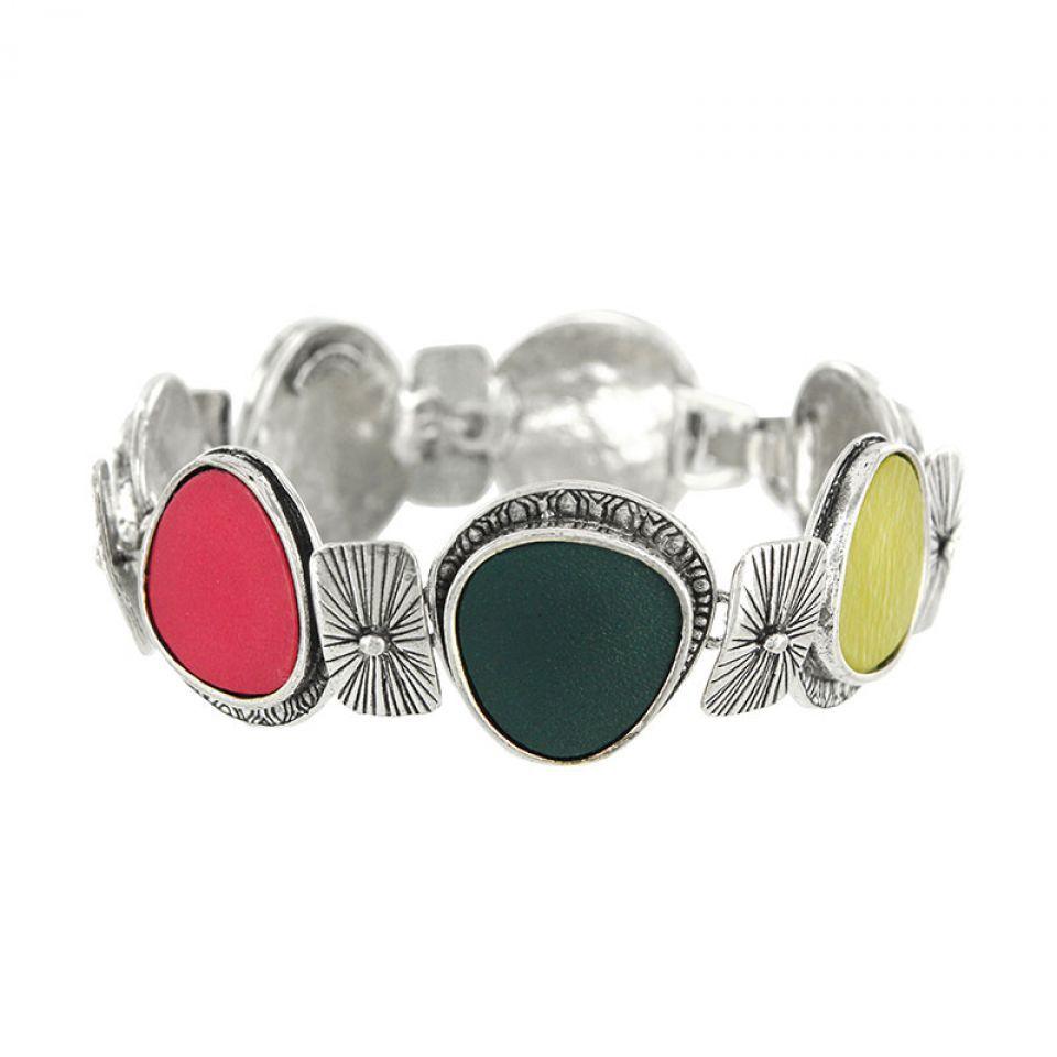 Bracelet Chloe Argent Multi Taratata Bijoux Fantaisie en ligne 1