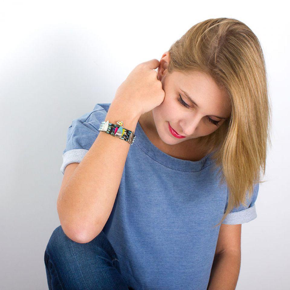 Bracelet Chloe Argent Multi Taratata Bijoux Fantaisie en ligne 2