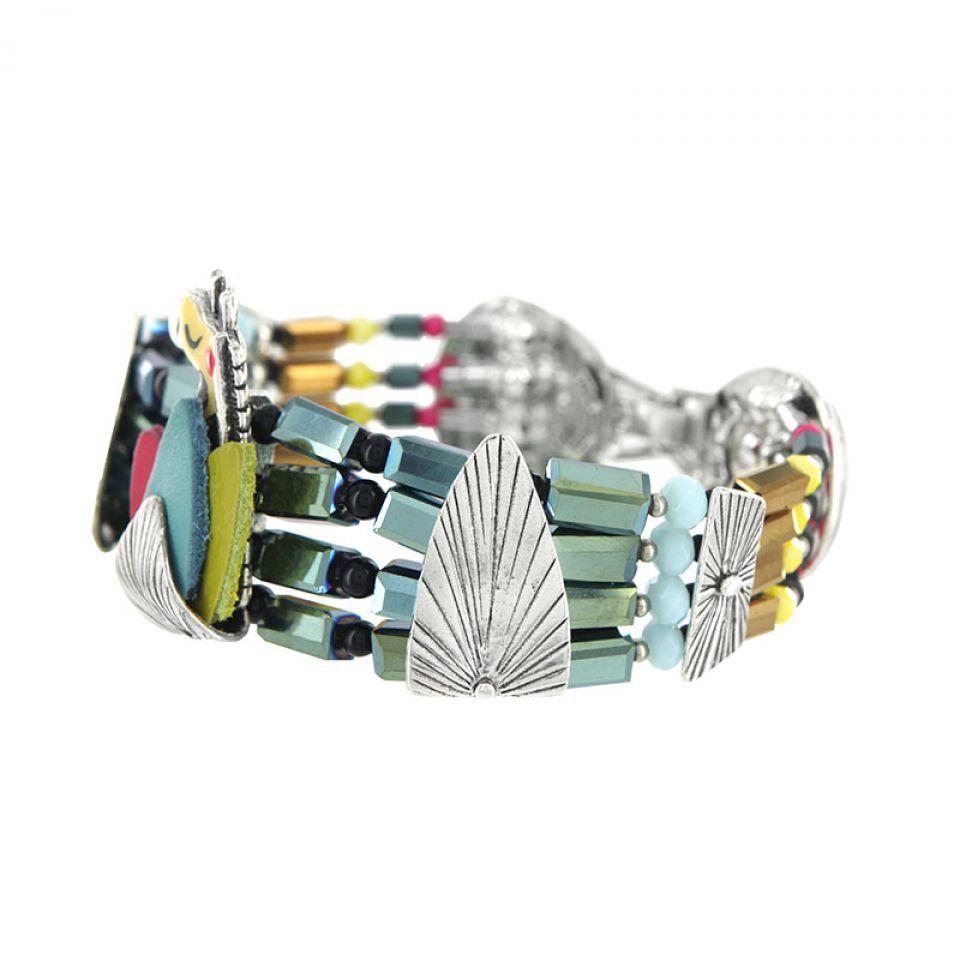Bracelet Chloe Argent Multi Taratata Bijoux Fantaisie en ligne 3