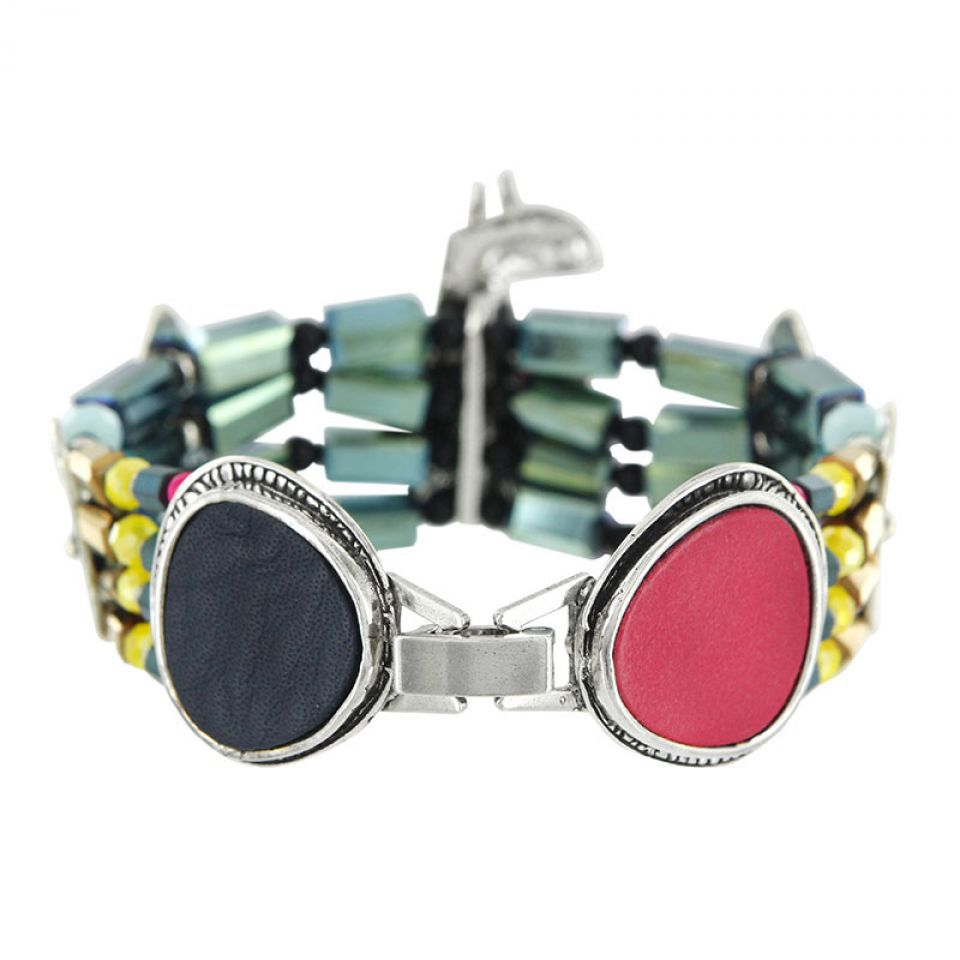 Bracelet Chloe Argent Multi Taratata Bijoux Fantaisie en ligne 4