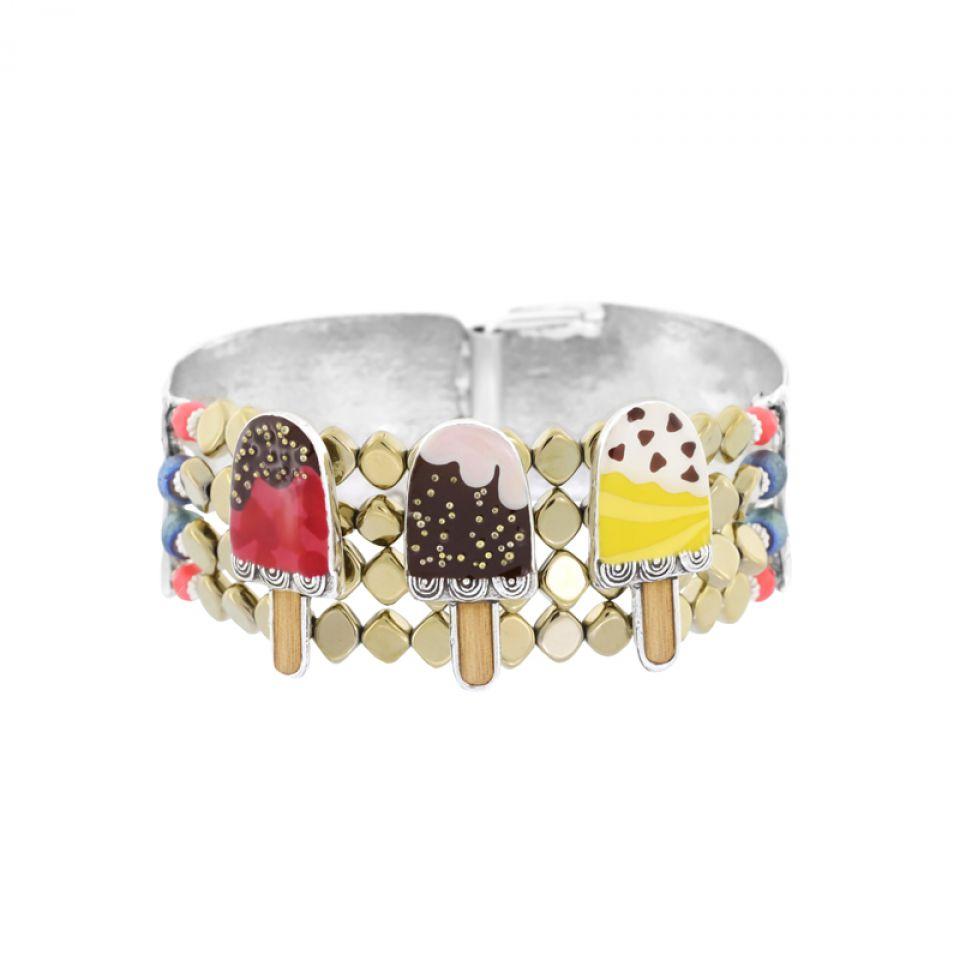 Bracelet Chouchous Argent Multi Taratata Bijoux Fantaisie en ligne 1