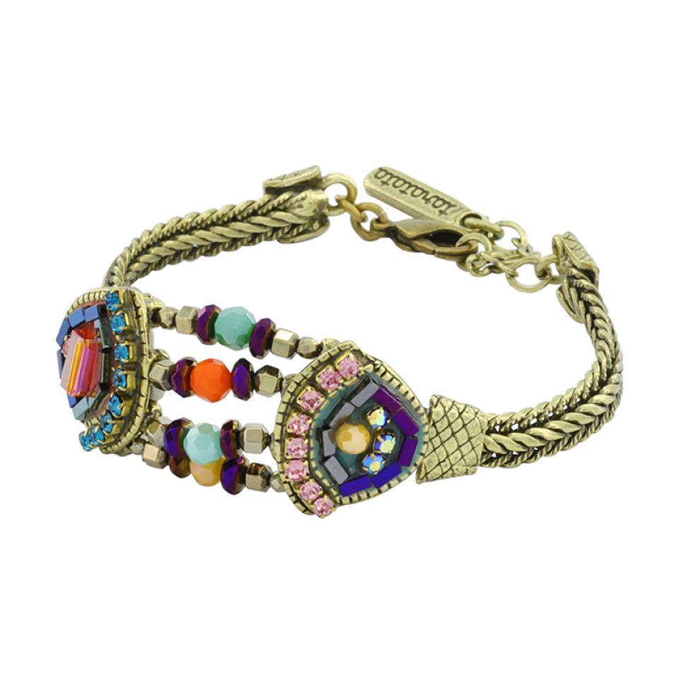 Bracelet Coquetterie Bronze Multi Taratata Bijoux Fantaisie en ligne 1