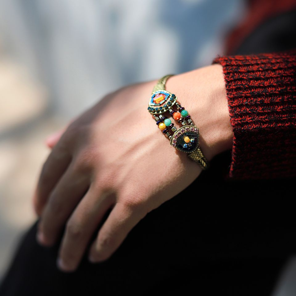 Bracelet Coquetterie Bronze Multi Taratata Bijoux Fantaisie en ligne 2