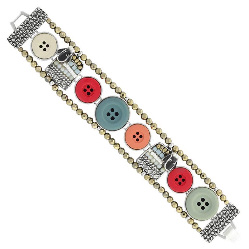 Bracelet Cousu-main Argent Multi Taratata Bijoux Fantaisie en ligne 4