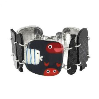 Bracelet Dandinette Argent Multi