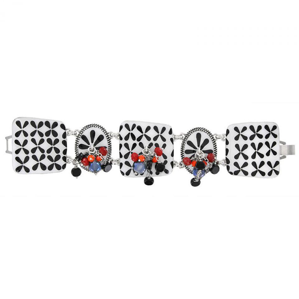 Bracelet Double Six Argent Multi Taratata Bijoux Fantaisie en ligne 2