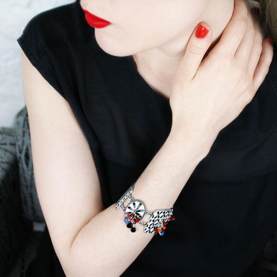 Bracelet Double Six Argent Multi Taratata Bijoux Fantaisie en ligne 3