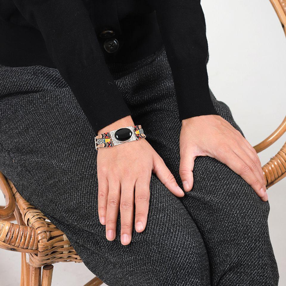 Bracelet Equivoque Argent Multi Taratata Bijoux Fantaisie en ligne 2