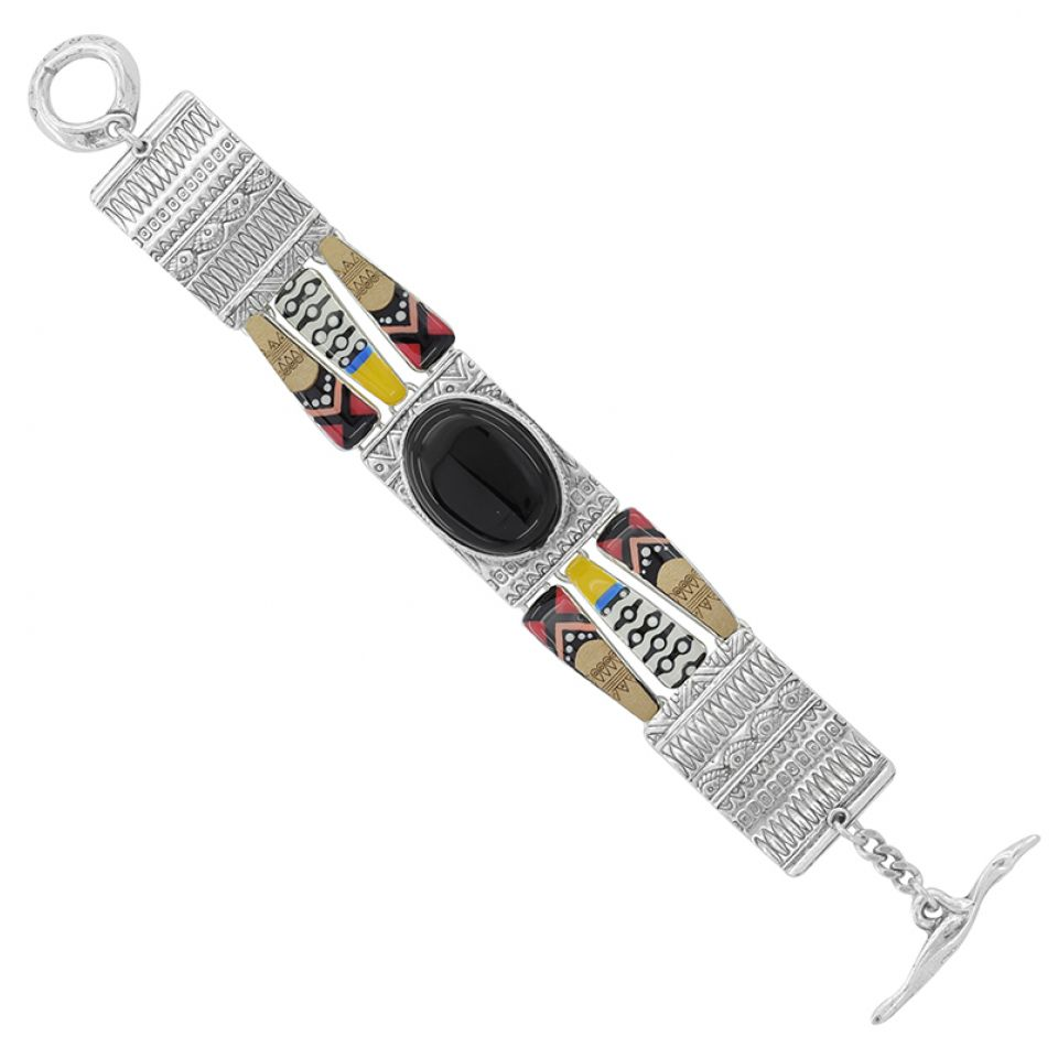 Bracelet Equivoque Argent Multi Taratata Bijoux Fantaisie en ligne 3