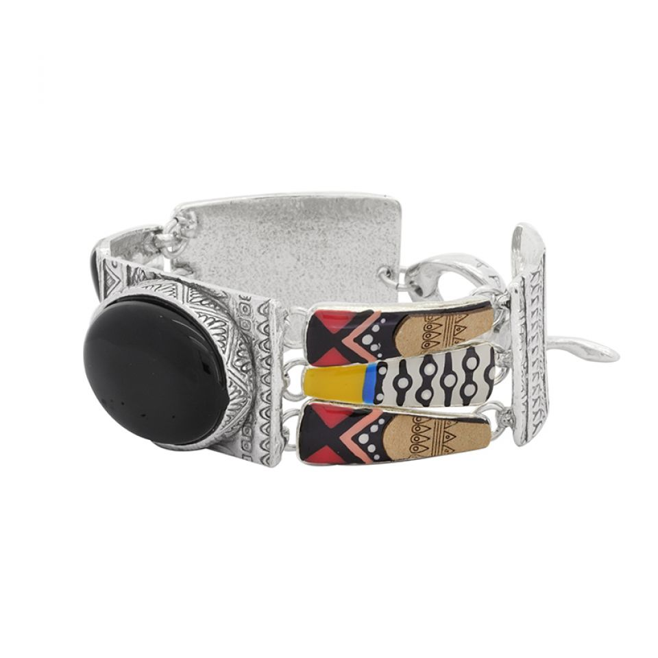 Bracelet Equivoque Argent Multi Taratata Bijoux Fantaisie en ligne 4
