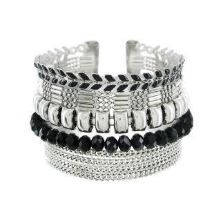 Bracelet Essentiel Argent Noir