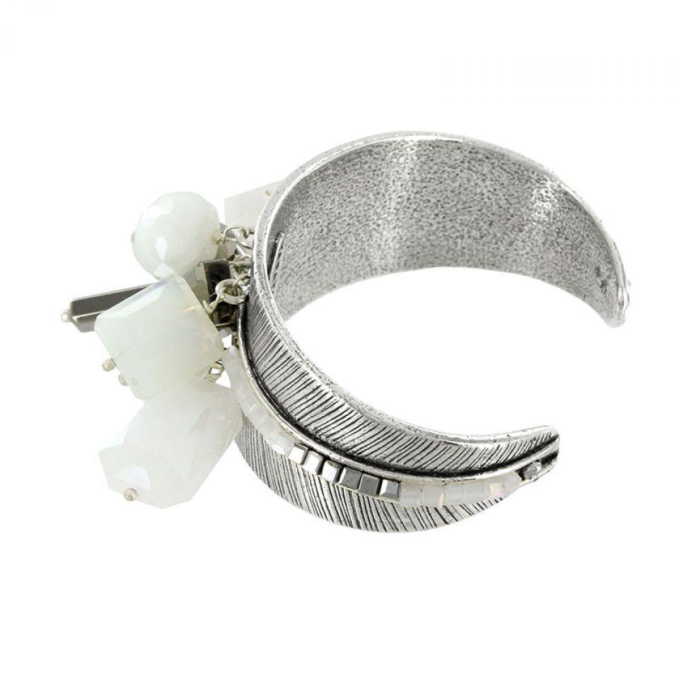 Bracelet Essentiels Argent Blanc Taratata Bijoux Fantaisie en ligne 3