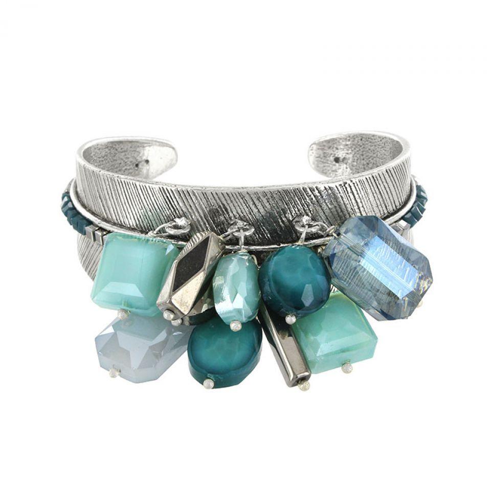Bracelet Essentiels Argent Bleu Taratata Bijoux Fantaisie en ligne 2