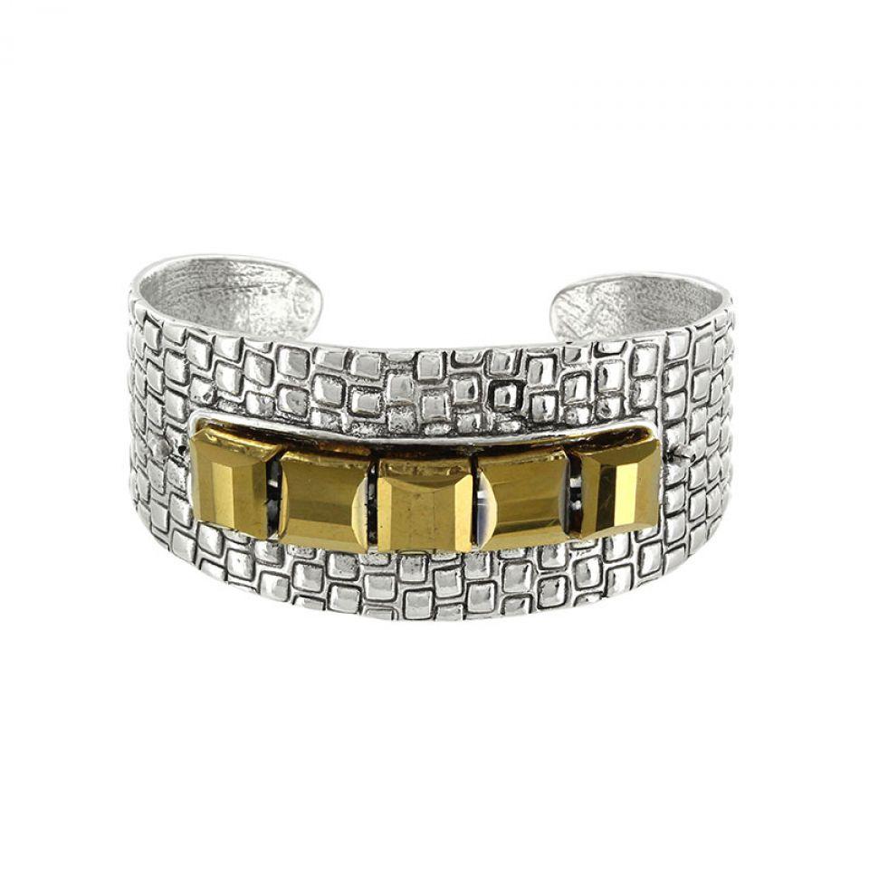 Bracelet Essentiels Argent Dore Taratata Bijoux Fantaisie en ligne 2