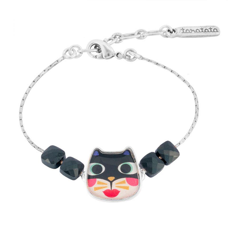 Bracelet Feline Couleur Argent Multi Taratata Bijoux Fantaisie en ligne 2