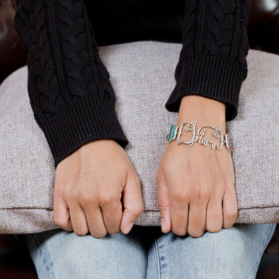 Bracelet Filipendule 2 Argent Multi Taratata Bijoux Fantaisie en ligne 2