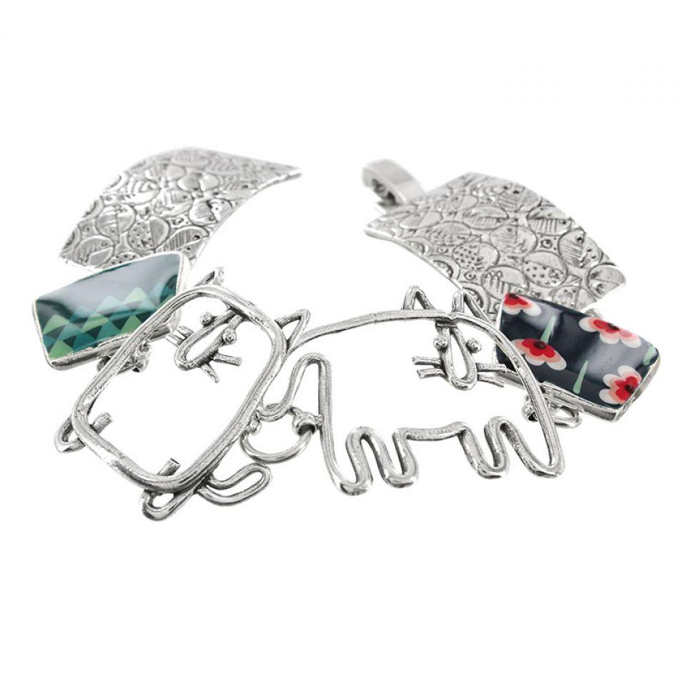 Bracelet Filipendule 2 Argent Multi Taratata Bijoux Fantaisie en ligne 3