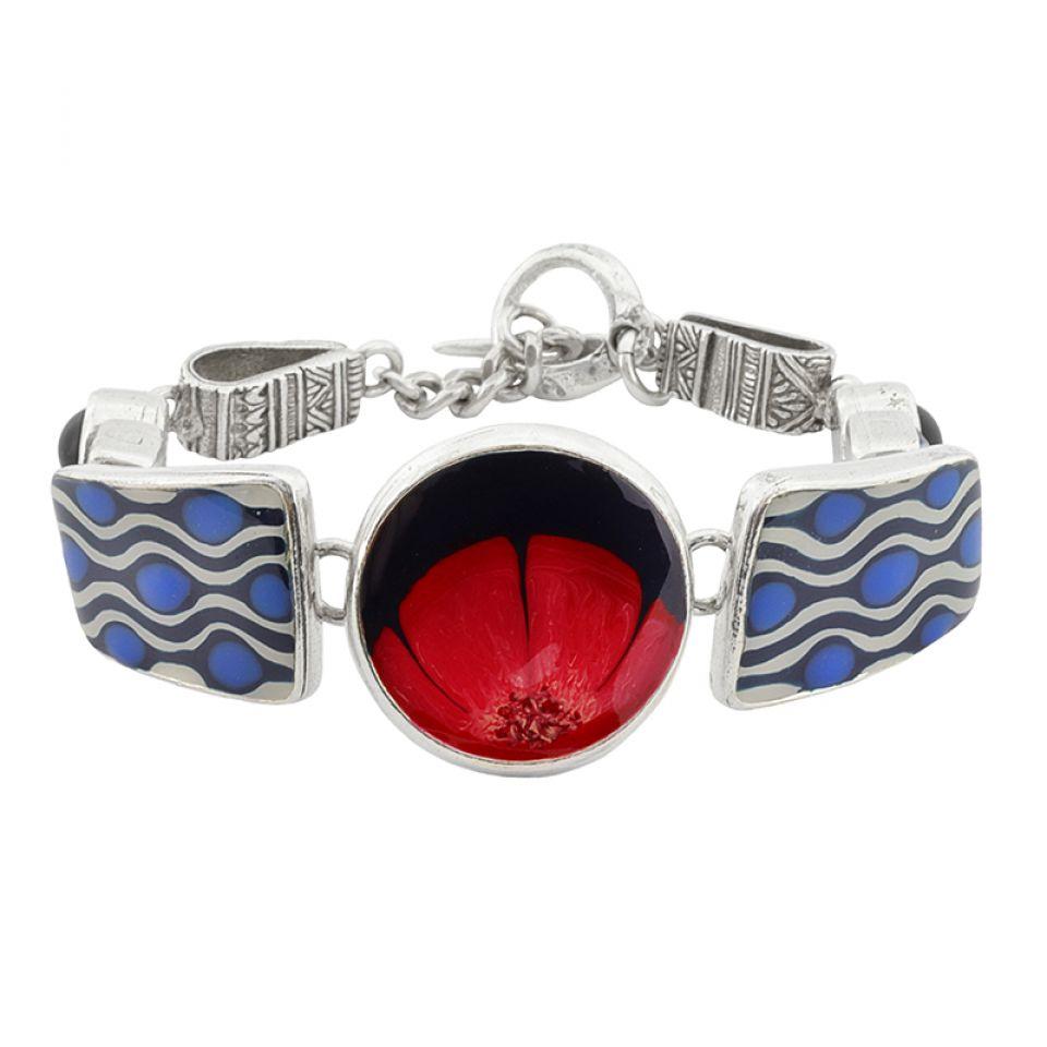 Bracelet Gombos Argent Multi Taratata Bijoux Fantaisie en ligne 1