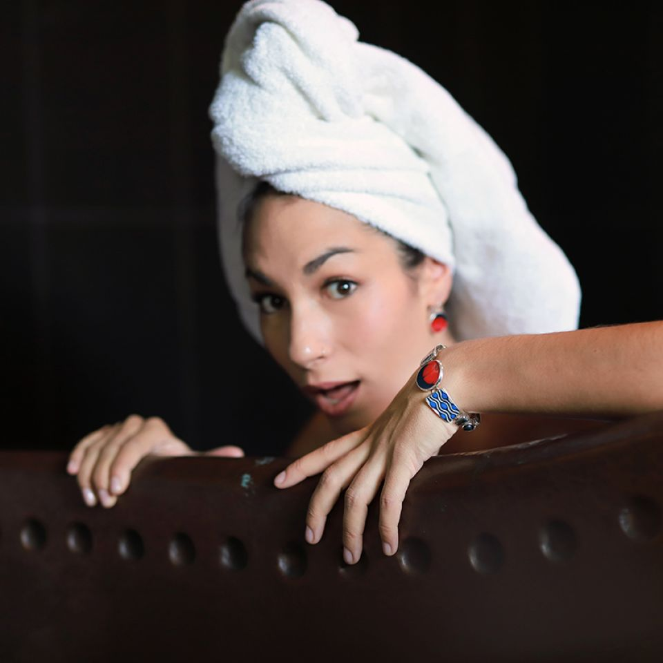 Bracelet Gombos Argent Multi Taratata Bijoux Fantaisie en ligne 2
